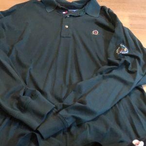 Cape May golf clubs long sleeve polo golf shirt xL
